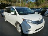 2011 Blizzard White Pearl Toyota Sienna Limited AWD #87342324