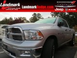 2012 Bright Silver Metallic Dodge Ram 1500 Big Horn Quad Cab #87341935