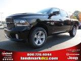2014 Black Ram 1500 Sport Crew Cab #87341927