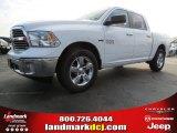 2014 Bright White Ram 1500 Big Horn Crew Cab #87341925