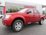 2013 Lava Red Nissan Frontier SV V6 Crew Cab #87342063