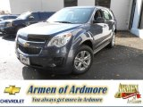 2014 Atlantis Blue Metallic Chevrolet Equinox LS #87341993