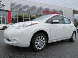 2013 Glacier White Nissan LEAF S #87342057