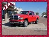 2003 Flame Red Dodge Ram 1500 SLT Quad Cab 4x4 #87341980