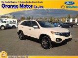 2011 White Sand Beige Kia Sorento EX V6 AWD #87341977