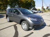 2014 Polished Metal Metallic Honda CR-V LX AWD #87342212