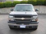 2005 Dark Gray Metallic Chevrolet Silverado 1500 LS Extended Cab 4x4 #8711376