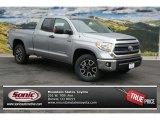 2014 Silver Sky Metallic Toyota Tundra SR5 Double Cab 4x4 #87341734