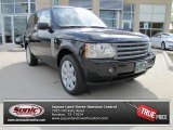 2007 Java Black Pearl Land Rover Range Rover HSE #87342198