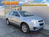 2014 Silver Topaz Metallic Chevrolet Equinox LS AWD #87380387