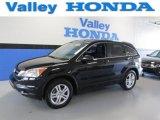 2011 Crystal Black Pearl Honda CR-V EX 4WD #87380386
