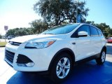 2014 White Platinum Ford Escape SE 1.6L EcoBoost #87380544