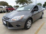 2014 Sterling Gray Ford Focus S Sedan #87380433