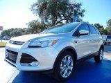 2014 Ingot Silver Ford Escape Titanium 1.6L EcoBoost #87380541