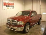 2012 Deep Cherry Red Crystal Pearl Dodge Ram 1500 SLT Quad Cab 4x4 #87380931