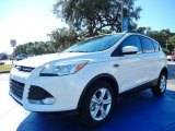 2014 White Platinum Ford Escape SE 2.0L EcoBoost #87380536