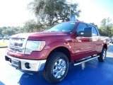 2013 Ruby Red Metallic Ford F150 XLT SuperCrew 4x4 #87380535
