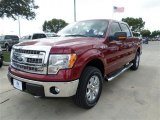 2013 Ruby Red Metallic Ford F150 XLT SuperCrew 4x4 #87380425