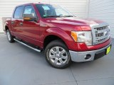 2013 Ruby Red Metallic Ford F150 XLT SuperCrew #87380620