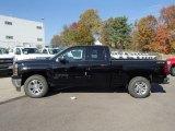 2014 Black Chevrolet Silverado 1500 LT Double Cab 4x4 #87380915