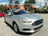 2013 Ingot Silver Metallic Ford Fusion S #87380526