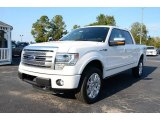 Oxford White Ford F150 in 2013