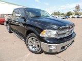 2012 Black Dodge Ram 1500 Laramie Crew Cab 4x4 #87380680