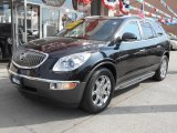 2009 Carbon Black Metallic Buick Enclave CXL AWD #87380830