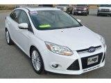 2012 Oxford White Ford Focus SEL Sedan #87380821