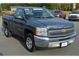 2012 Blue Granite Metallic Chevrolet Silverado 1500 Work Truck Regular Cab #87380816