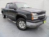 2003 Black Chevrolet Silverado 1500 LT Crew Cab #87380641