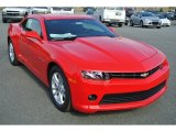2014 Red Hot Chevrolet Camaro LT Coupe #87380808
