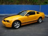 2007 Grabber Orange Ford Mustang GT Premium Coupe #8722873