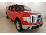 2010 Vermillion Red Ford F150 XLT SuperCrew 4x4 #87380789