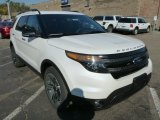 2014 White Platinum Ford Explorer Sport 4WD #87380572