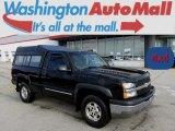 2003 Black Chevrolet Silverado 1500 LS Regular Cab 4x4 #87380557