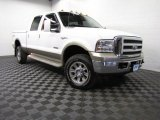 2005 Oxford White Ford F350 Super Duty King Ranch Crew Cab 4x4 #87380713