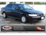 2002 Nighthawk Black Pearl Honda Accord EX Sedan #87418920