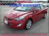 2013 Red Hyundai Elantra Limited #87418718