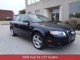 2008 Deep Sea Blue Pearl Effect Audi A4 2.0T Special Edition quattro Sedan #87418980