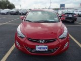 2013 Red Hyundai Elantra Limited #87418694