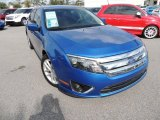 2011 Blue Flame Metallic Ford Fusion SEL #87419069