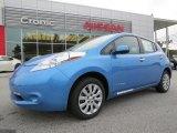 2013 Blue Ocean Nissan LEAF S #87419054