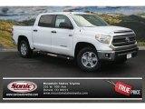2014 Super White Toyota Tundra SR5 Crewmax 4x4 #87418604