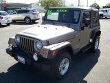 2006 Light Khaki Metallic Jeep Wrangler Sport 4x4 #8722847