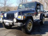2006 Midnight Blue Pearl Jeep Wrangler Sport 4x4 Golden Eagle #8720470