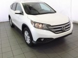 2014 White Diamond Pearl Honda CR-V EX-L #87457390