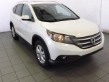 2014 White Diamond Pearl Honda CR-V EX-L #87457389