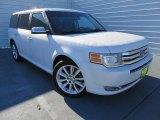 2010 White Platinum Tri-Coat Metallic Ford Flex Limited #87457651
