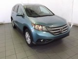 2014 Mountain Air Metallic Honda CR-V EX-L #87457386
